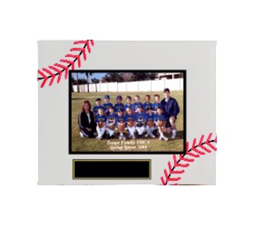 "Picture of (CLOSEOUT) Baseball Sport Picture Frame (Holds 5"" x 7"" Photo)"