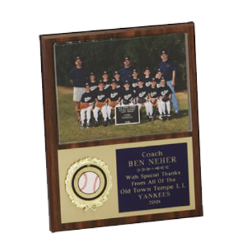 "Picture of 8"" x 10"" Team Photo Plaque (available in any sport)"