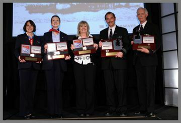 Picture of Flight 1549 Crew Awards