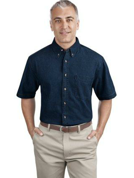 Picture of Short Sleeve Value Denim Shirt