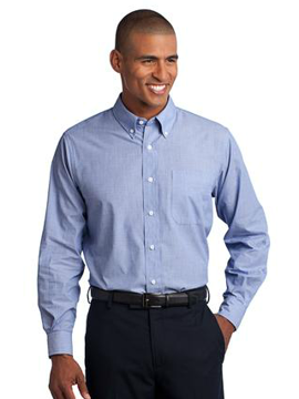 Picture of Port Authority® Crosshatch Easy Care Shirt. S640