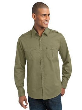 Picture of Roll Sleeve Twill Shirt