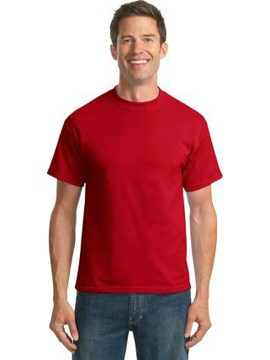 Picture of Port & Company® - 50/50 Cotton/Poly T-Shirt. PC55
