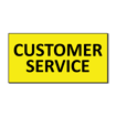 6 x 12 Engraved Plastic Sign | Yellow Engraves Black