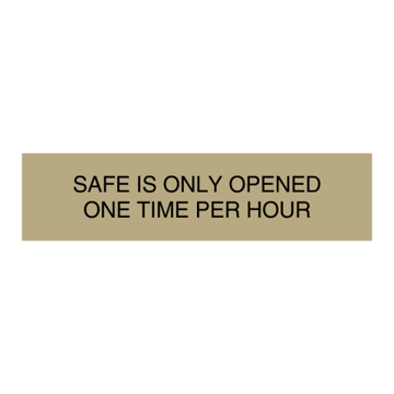 "2"" x 8"" Diamond Engraved Metal Plate 