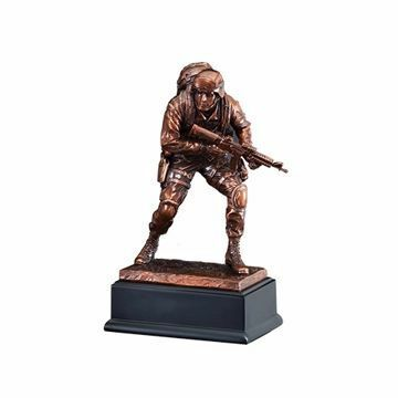 "10"" RFB135 Marine American Hero Resin Award"