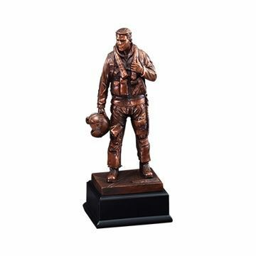 "11 1/2"" RFB133 Airforce American Hero Resin Award"