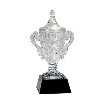 Premier Crystal Trophy Cup | 3 Sizes Available