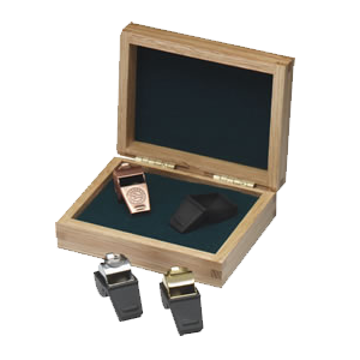 Coach Whistle In Wood Box | 3 Colors Available