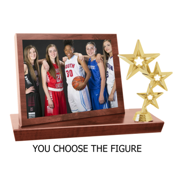 CFS73 Activity Stand-Up Photo Plaque | Customer Figure Choice