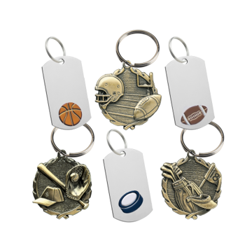 Engraved Sport Key Tags | NewlineTrophy.com