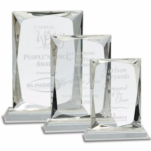 Crystal Gem Award | 3 Sizes Available | Engraving Included