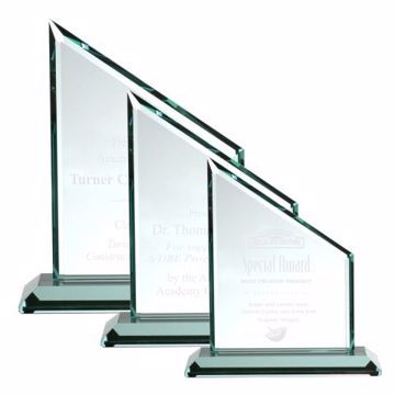 Sierra Glass Award | 3 Sizes Available | Engraving Included