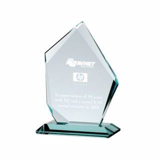 Summit Glass Award 8"