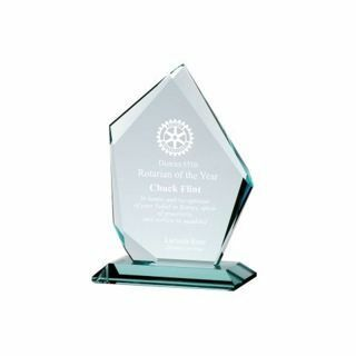 Summit Glass Award 6"