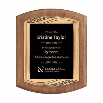 "Cast Bronze Framed Plaque 11 1/2"" x 14"" 