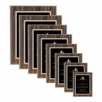 Value Walnut Plaque | 8 Sizes Available | Engraving Included