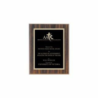 """Value Walnut Plaque 6"""" x 8"""" 