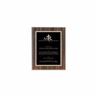 """Value Walnut Plaque 5"""" x 7"""" 