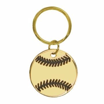 Baseball Keychain | Engraving Included