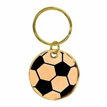 Soccer Keychain | Engraving Included
