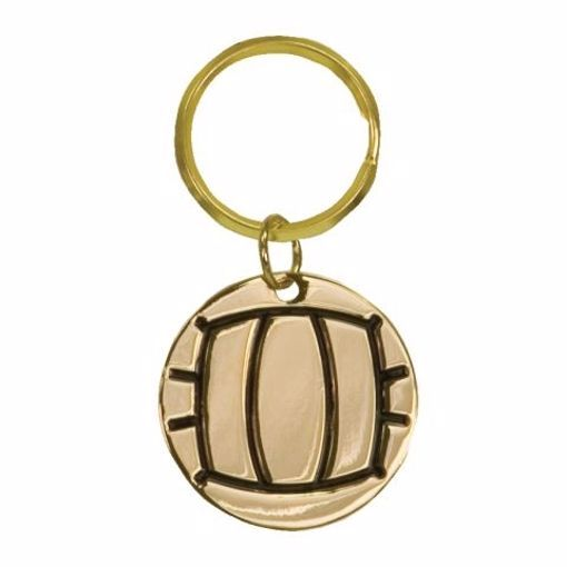 Volleyball Keychain   Engraving Included
