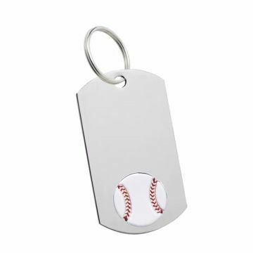 Baseball Key Tag | Engraving Included