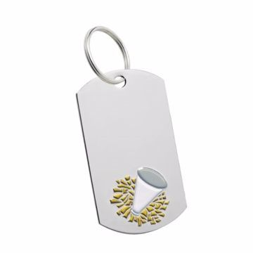 Cheerleading Key Tag | Engraving Included