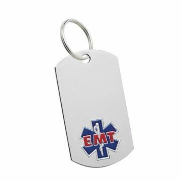 EMT Key Tag | Engraving Included