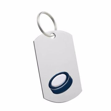 Hockey Key Tag | Engraving Included