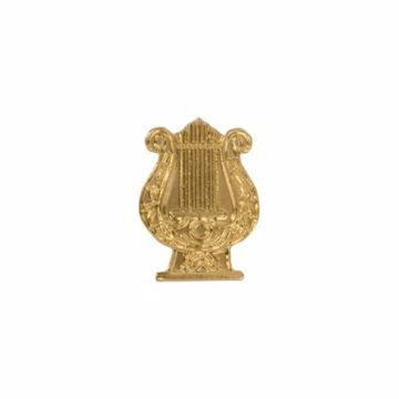 Music Lyre Letterman Jacket Pin