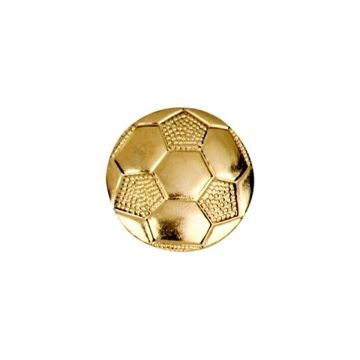 Soccer Ball Letterman Jacket Pin