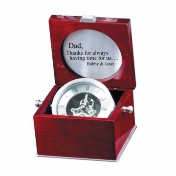 Engraved Captains Clock | Engraving Included