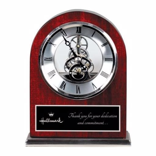 Engraved Desk Award Clock | Engraving Included