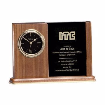 Engraved Desk Frame Clock | Engraving Included