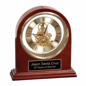 Rosewood Grand Piano Clock | Engraving Included