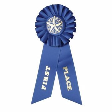 Award Ribbon 1st Place Rosette