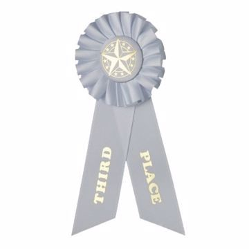 Award Ribbon 3rd Place Rosette