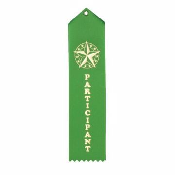 Participant Card & String Ribbon | Green
