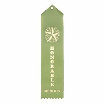 Honorable Mention Card & String Ribbon | Light Green