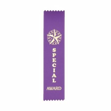 Award Ribbon Special Award Strip | Purple