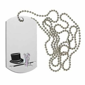 Dance Dog Tag | Engraving Included