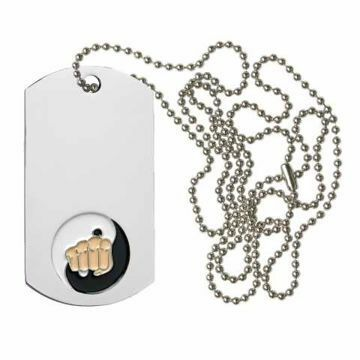 Karate Dog Tag | Engraving Included