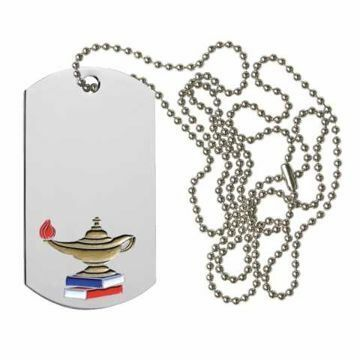 Knowledge Dog Tag | Engraving Included