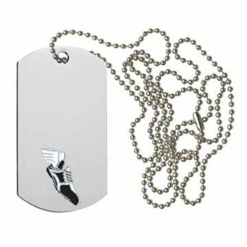 Track Dog Tag | Engraving Included