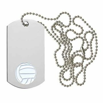 Volleyball Dog Tag | Engraving Included