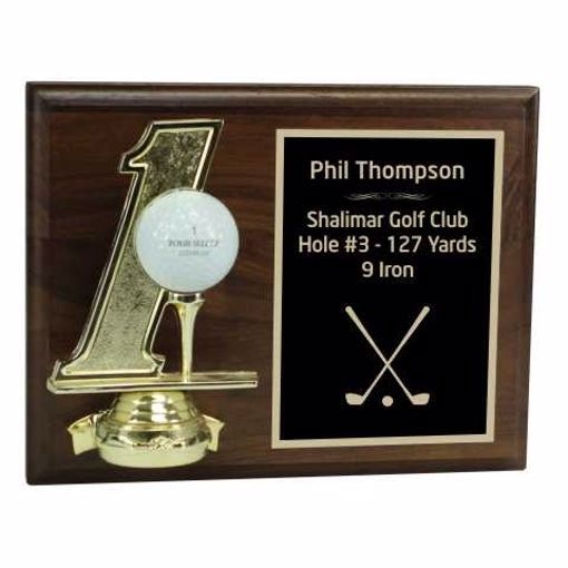 Hole In One Plaque | Engraving Included