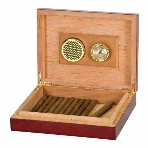 Piano Finish Rosewood Humidor | Engraving Included