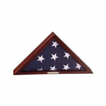 Flag Case Ceremonial | Engraving Included