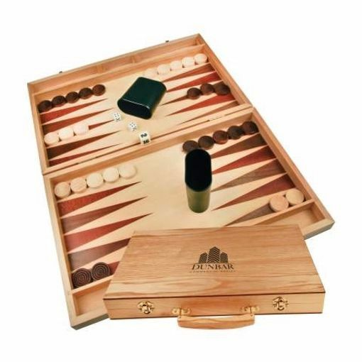 Wood Backgammon Set   Engraving Included
